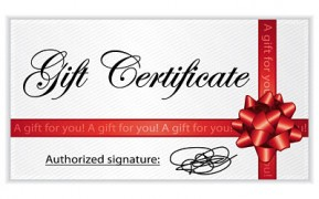 Pilates Victoria Gift Certificate